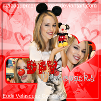Edicion Bridgit Mendler by MacaQuemeraEditions