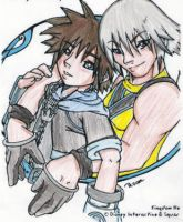 Riku and Sora by Kemko
