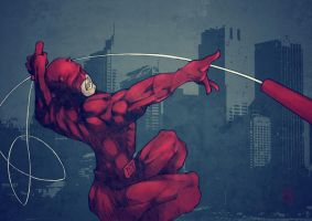 Daredevil by Eddymaurice