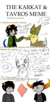 Karkat and Tavros meme by SweetieTheEspeon