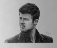 Robin Thicke by FromPencil2Paper