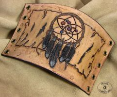 Another dreamcatcher by Hobbit-Leatherworks