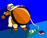 Inflated Arcanine -Colored- by Yoshi-eats-your-pie