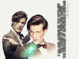 The Eleventh Doctor, The Optimist by LeavesFallingUp14