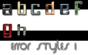 Error styles 1 by Error-403-Forbidden