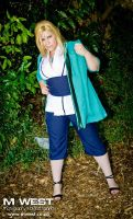 Cosplay Picnic: Lady Tsunade from Naruto Shippuden by CosplayingSakura
