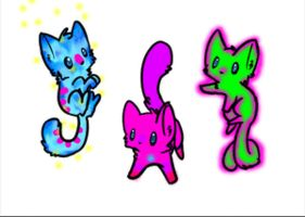 5 point kitten adopts [We glow!] by LittleAdoptShop