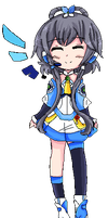 [Vocaloid pixels] Luo Tianyi by Andi-chin