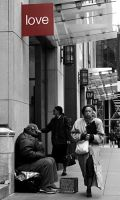 Indifference, NYC by magnon