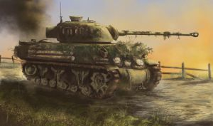 Sherman Firefly - Holland 1944 by derbz