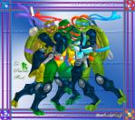 TMNT Brotherly Love by BrotherlyFluff