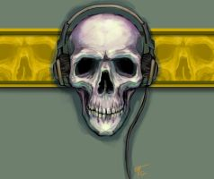Skull-Headphones by TheMacRat