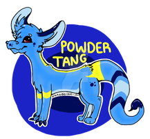 Powder Blue Tang Toxicoatl Auction OPEN by graveoftherave