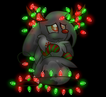 Tangled Reindeer by 0Shiny0