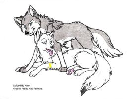 Faye and WolfD...forever by SpeedDemon49