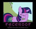 Facehoof, Twilight Sparkle by AtomicGreymon