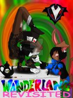 PBV- Wonderland: Revisited - Hattress and the Hare by PlayboyVampire