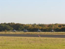 F-16's lining up by kaasjager