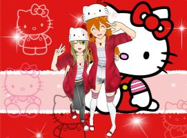 Hello Kitty My Friends OwO by KingdomHeartsNickey