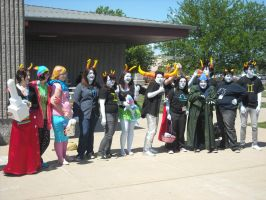 Homestuck Group -ASTL'12- by vivthehedgehog