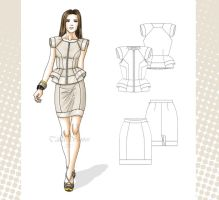 fashion chic by Tania-S