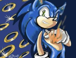 sonic and the secret rings by f-sonic