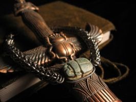 Persian Scarab by TwitchNothing