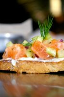 Salmon Tartare by chiziwhiteafrican