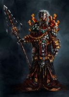 Aztec Shamman by Wildforge