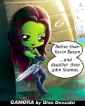 Dangerous Gamora by Dreamgate-Gad