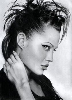 Angelina Jolie by NoName-Face
