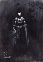The Batman by Obsidianwatcher