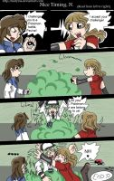 Request Comic- Nice Timing N by Mistynia