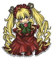 Rozen Maiden (Shinku) by NeonPebble