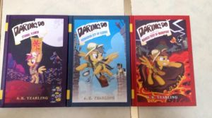 MLP: The Daring Do Adventure Books A.K. Yearling by extraphotos