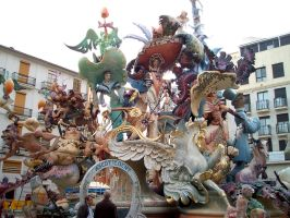 Fallas 2004 by JPeiro