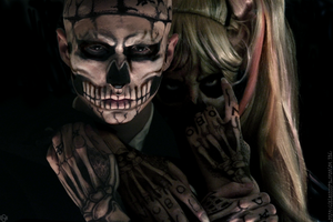 Lady Gaga + Zombie Boy Cosplay: Born this way by Nobodyyyyy