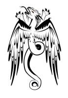 Eagle Winged Dragon Tattoo by sparkycom