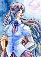 Vanlaus OC Commission Aceo-Card by Valeyla