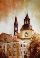 Sandomierz 01 - Church of St. James by Saferdi
