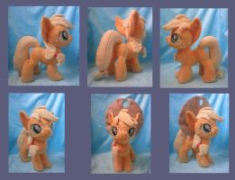 Applejack Filly (for sale) by SillyBunnies