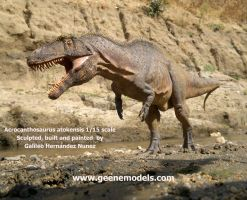Acrocanthosaurus 1:15 finished by GalileoN