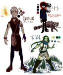WEBCOMIC CHARACTERS... sort of by Colourcloud