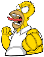 Homer Simpson by shadowvaporz