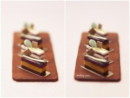 Miniature cakes. by Aiclay
