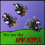 We are the APOCALYPSE by Kasandra-Callalily