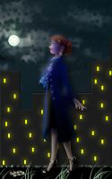 Walking in the night by chibinia