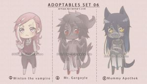 Adoptables Set 06 - CLOSED by arhiee