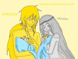 Stephano and Gonzales parents by Jcmixs