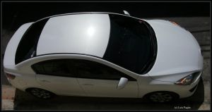 11' Mazda 3 roof view by Mister-Lou
